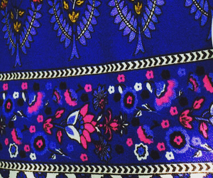 blue, colours, and pattern image