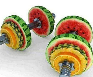 fruit, inspiration, and muscles image