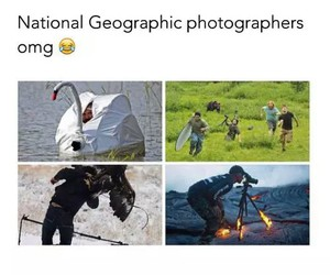 funny, national geographic, and photographer image