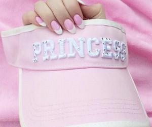 pink, princess, and nails image