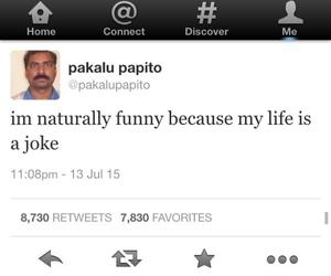 funny, life, and joke image