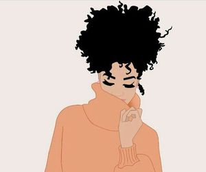 Afro, art, and hair image