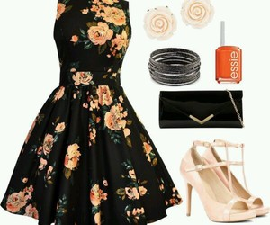 dress, outfit, and pretty image