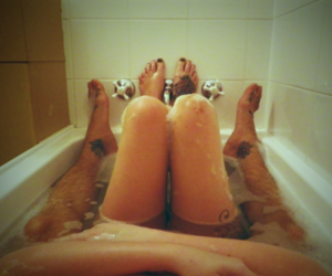 amazing, cute couple, and feet image