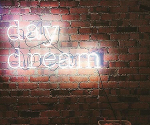daydream and neon sign image