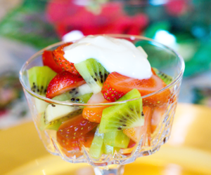 fruit, food, and kiwi image