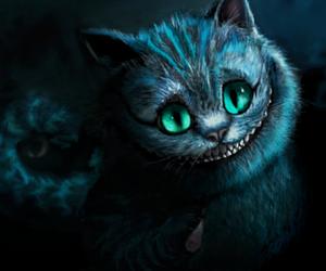 cat and alice in wonderland image