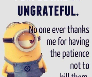 minions, quote, and funny image