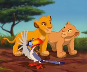 cub, disney, and savana image
