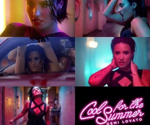 demi and cool for the summer image