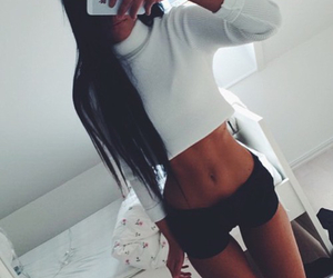 abs, beautiful, and beauty image