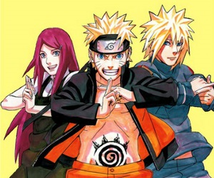 gaara, sakura, and minato image