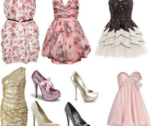 dress, sohes, and dresses image