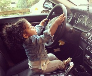 cute, car, and baby image
