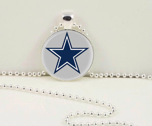 football pendant, football necklace, and nfc pendant image