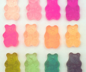 color, bear, and candy image