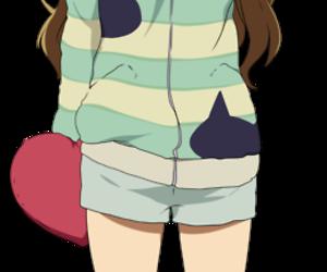 anime, girl, and pijama image