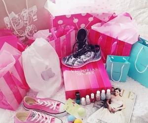pink, converse, and nail polish image