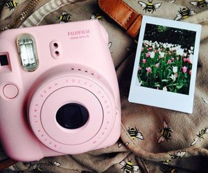 camera, instax, and technology image