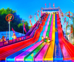 fun, summer, and colors image