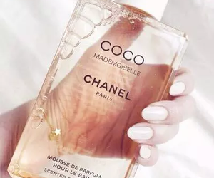 chanel, perfume, and nails image