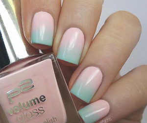 nails and ombre nails image