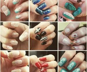 collection, nail art, and nails image