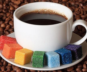 coffee and color image