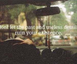 past, quote, and text image