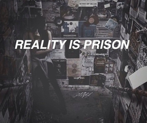 reality, prison, and grunge image