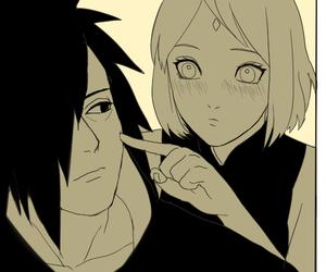 naruto, sakura haruno, and madara uchiha image