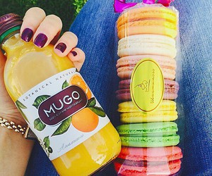 colorful, drink, and food image