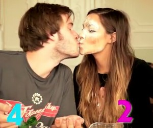pewdiepie, marzia, and kiss image