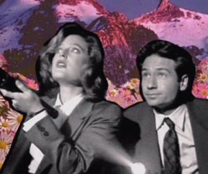 Collage, mulder, and scully image