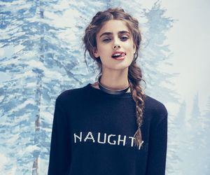 model, snow, and taylor hill image