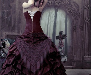 gothic and dress image