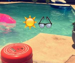 pool, summer, and vacation image