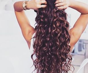 awesome, hairstyle, and wavy hair image