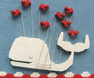 twitter, whale, and lego image