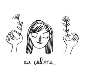 calm, illustration, and chacoco image
