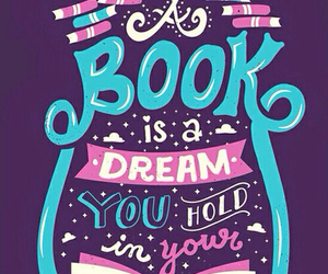 book, Dream, and quote image