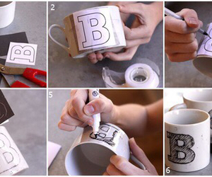 cup, diy, and Easy image