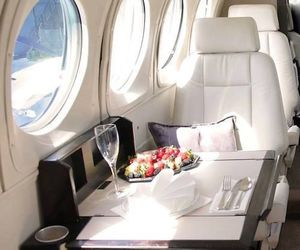 luxury, plane, and airplane image
