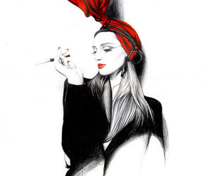 fashion and illustration image