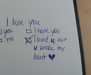 heart, quote, and sad image