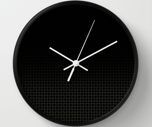 accessory, crystal, and wall clock image