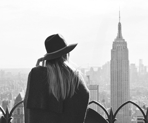 girl, fashion, and new york image