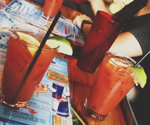 bloody mary and day drinking image