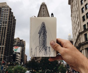 draw, inspiration, and new york image