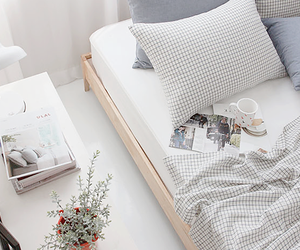 bed, cama, and decor image